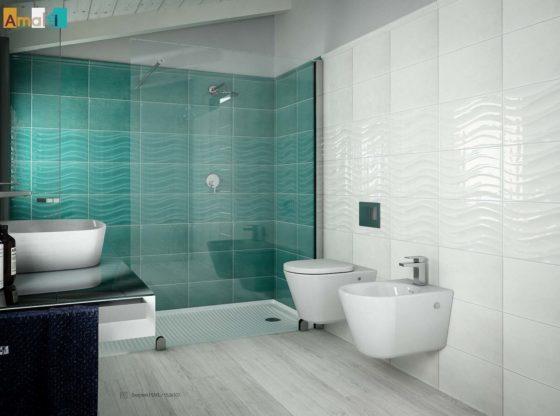 Bianco lucido archivi edil prodotti materiali edili - Rivestimento bagno economico ...