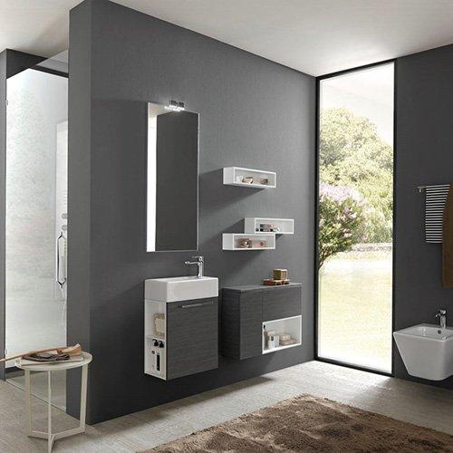 Mobili da bagno archeda serie light evolution edil prodotti materiali edili pavimenti - Arredo bagno legnano ...